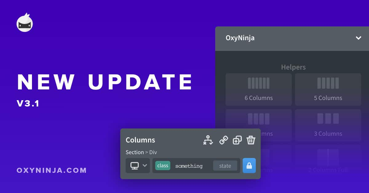 OxyNinja Update 3.1 – New features and bug fixes