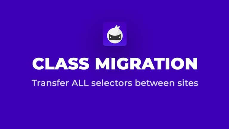 Class Migration